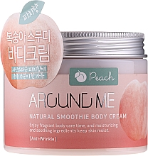 Kup Krem do ciała - Welcos Around Me Natural Body Smoothie Body Cream Peach