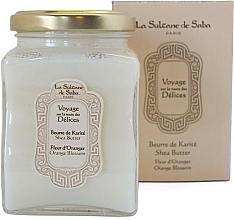 Kup La Sultane de Saba Fleur d'Oranger Orange Blossom - Masło shea o zapachu kwiatu pomarańczy