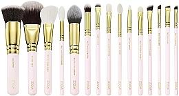 Zestaw pędzli do makijażu w kosmetyczce - Zoeva Screen Queen Complete Set (15 brushes + clutch) — фото N2