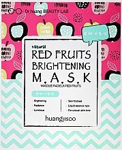 Kup Rozjaśniająca maska w płachcie do twarzy z czerwonymi owocami - Huangjisoo Red Fruits Brightening Mask