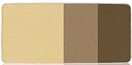 Kup PRZECENA! Potrójne cienie do powiek - Aveda Płatek Essence Single Eye Colors Trio (wymienny wkład) *