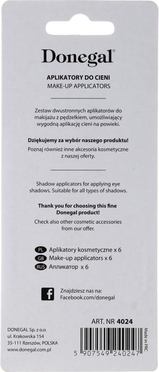 Temperówka kosmetyczna do kredek, 4101, różowa - Donegal Sharpener Pencil — фото N2