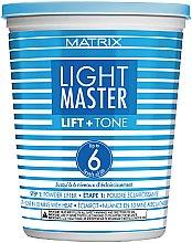 Kup Puder do rozjaśniania i dekoloryzacji włosów - Matrix Light Master Lift & Toner Powder Lifter