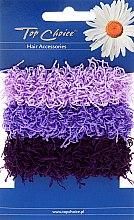Kup Gumki do włosów 3 sztuki, fioletowe - Top Choice