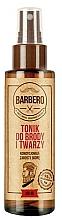 Kup Kondycjonujący tonik do brody i twarzy dla mężczyzn - Barbero Beard and Face Tonic