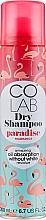 Kup Suchy szampon o zapachu kokosa - Colab Paradise Dry Shampoo