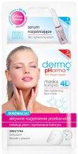 Kup Maska kompres 4D + serum rozjaśniające Aktywne rozjaśnienie przebarwień - Dermo Pharma