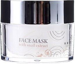 Kup Naturalna maska do twarzy z ekstraktem ze ślimaka - Hristina Cosmetics Orient Snail Face Mask