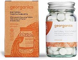 Kup Naturalne tabletki do mycia zębów Pomarańcza - Georganics Natural Toothtablets Orange