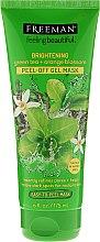 Kup Rozjaśniająca żelowa maska peel-off do twarzy Zielona herbata i kwiat pomarańczy - Freeman Feeling Beautiful Brightening Green Tea+Ornge Blossom Peel-Off Gel Mask