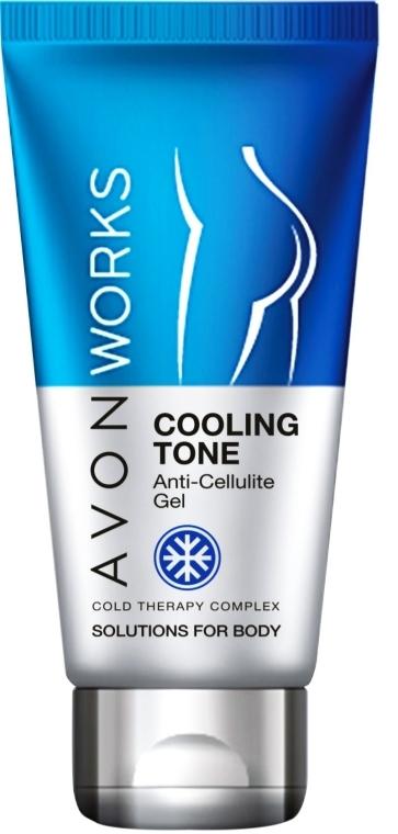 Antycellulitowy żel chłodzący do ciała - Avon Works Anti-Cellulite Cooling Gel — фото N1