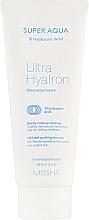 Kup Oczyszczający krem do twarzy z kwasem hialuronowym - Missha Super Aqua Ultra Hyalron Cleansing Cream