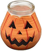 Kup PRZECENA! Świeca dekoracyjna w słoiczku, 94/91 mm - Bolsius Candle Patiolight Pumpkin *