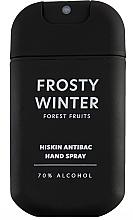 Kup Antybakteryjny spray do rąk Owoce leśne - HiSkin Antibac Hand Spray Frosty Winter