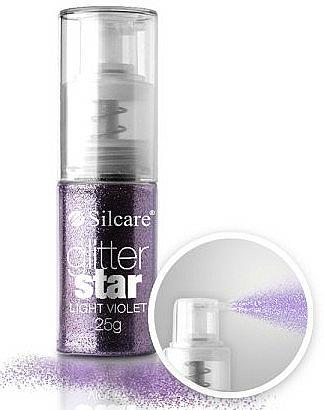 Brokat w sprayu do paznokci - Silcare Glitter Star — фото N1