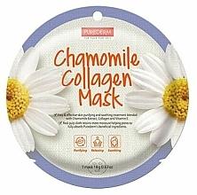 Kup Kolagenowa maseczka łagodząca z ekstraktem z rumianku - Purederm Chamomile Collagen Mask