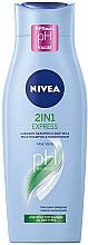 Kup Szampon 2 w 1 Ekspresowa pielęgnacja - Nivea Hair Care 2 in 1 Express Shampoo