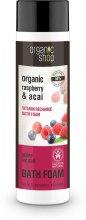 Kup Płyn do kąpieli Jagody Acai i malina - Organic Shop Organic Acai and Raspberry Berry Bath Foam