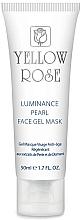 Kup Żelowa maska do twarzy z pudrem diamentowym - Yellow Rose Luminance Pearl Face Gel Mask