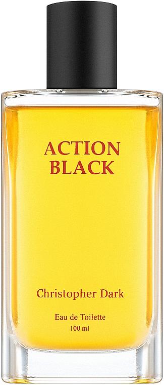 Christopher Dark Action Black - Woda toaletowa