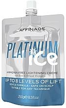 Kup Krem do stylizacji włosów dla mężczyzn - Affinage Salon Professional Platinum Ice Ammonia-Free Lightening Creme