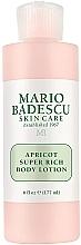 Kup Super bogaty balsam do ciała - Mario Badescu Apricot Super Rich Body Lotion