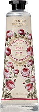 Kup Krem do rąk Róża - Panier des Sens Hand Cream Ball Rose