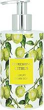 Kup Odświeżające mydło w płynie - Vivian Gray Refreshing Citrus Luxury Cream Soap