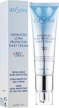 Kup Żel przeciwsłoneczny do twarzy SPF 50+ - LeviSsime Advanced Ultra Protector Daily Cream SPF50
