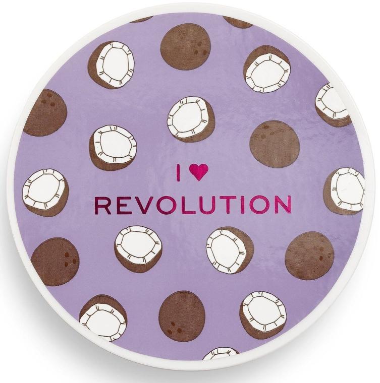 Sypki puder kokosowy do twarzy - I Heart Revolution Loose Baking Powder Coconut — фото N3