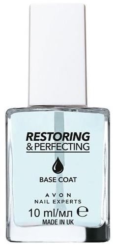 Baza do łamliwych paznokci - Avon Nail Experts Base Coat Restoring&Perfecting — фото N1