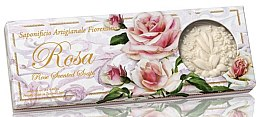 Kup Zestaw naturalnych mydeł w kostce Róża - Saponificio Artigianale Fiorentino Rosa Scented Soaps (3 x soap 125 g)