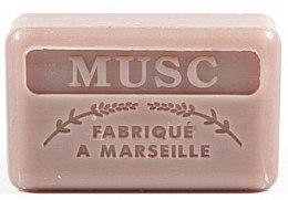 Kup Marsylskie mydło w kostce Piżmo - Foufour Savonnette Marseillaise Musc