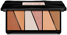 Kup Paletka rozświetlaczy do twarzy - Makeup Revolution Shook! Highlighter Palette