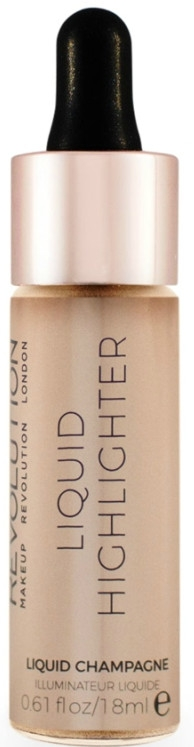 Płynny rozświetlacz do twarzy - Makeup Revolution Liquid Highlighter