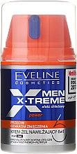 Kup Krem-żel nawilżający 6 w 1 dla mężczyzn przeciw oznakom zmęczenia - Eveline Cosmetics Men X-Treme Power Cream-Gel 6In1