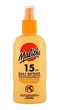 Kup Ochronny spray do ciała SPF 15 - Malibu Daily Defense SPF15