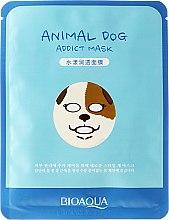 Kup Maseczka na tkaninie do twarzy Pies - Bioaqua Animal Dog Addict Mask