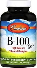 Kup Witamina B - Carlson Labs B-100 Gels
