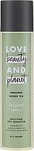 Kup Suchy szampon do włosów normalnych i przetłuszczających się Organiczna zielona herbata - Love Beauty&Planet Organic Green Tea Uplifting Dry Shampoo
