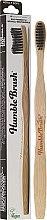 Kup Miękka bambusowa szczoteczka do zębów, czarna - The Humble Co. Adult Black Soft Toothbrush