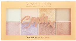 Kup Paletka rozświetlaczy do twarzy - Makeup Revolution Soph X Highlighter Palette