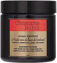 Kup PRZECENA! Regenerująca maska do włosów - Christophe Robin Regenerating Mask With Rare Prickly Pear Seed Oil *