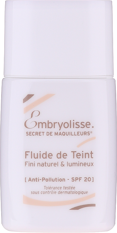 Podkład do twarzy - Embryolisse Laboratories Secret De Maquilleurs Liquid Foundation Spf 20 — фото N1