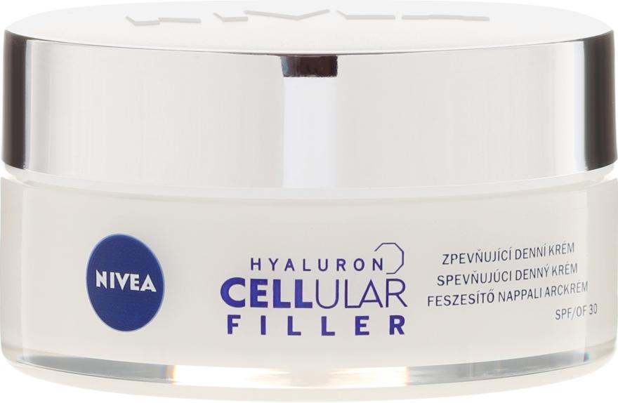 Przeciwzmarszczkowy krem na dzień SPF 30 - Nivea Hyaluron Cellular Filler Cream — фото N3