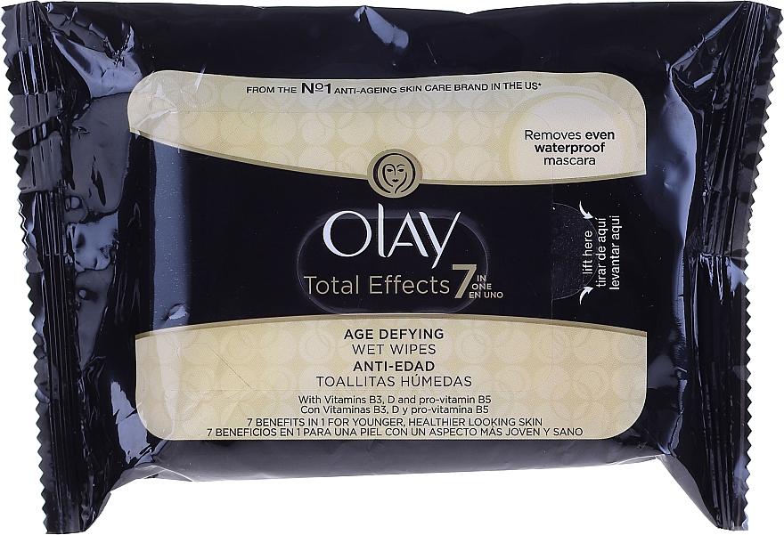 Zestaw - Olay Total Effects 7 (cr 50 ml + 20 x wipes) — фото N2
