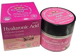 Kup Nawilżający krem do twarzy z kwasem hialuronowym - Ekel Hyaluronic Acid Ampule Cream