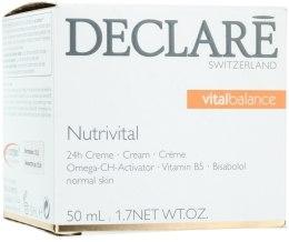 Kup 24-godzinny krem odżywczy do twarzy - Declare Nutrivital 24 h Cream