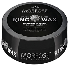 Kup Wosk do włosów - Morfose Dark King Hair Wax Super Aqua