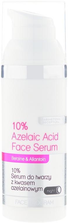 10% serum do twarzy z kwasem azelainowym na noc - Bielenda Professional Program Face — фото N1
